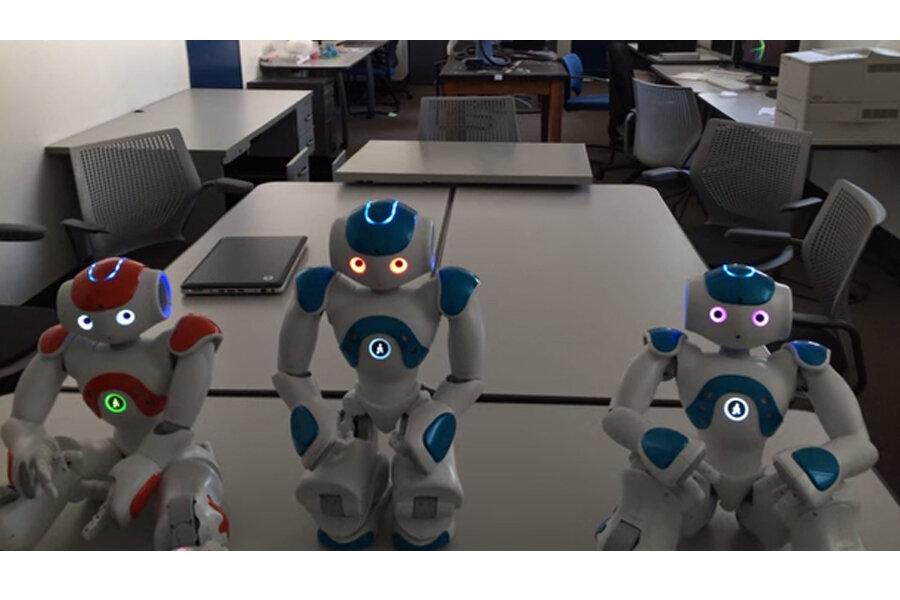 Experimental robot shows signs of self-awareness