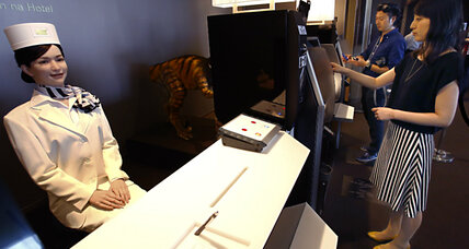 Smart hotel? Japan opens a hotel run by robots