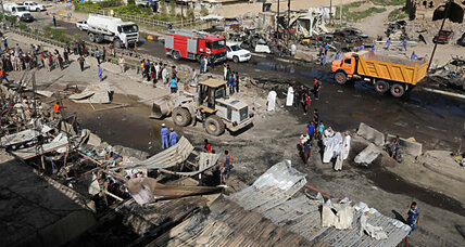 ISIS suicide bombing kills more than 100 people in Iraq market