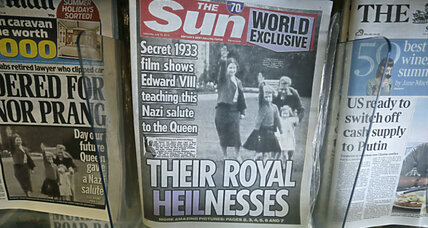 Queen's Nazi salute: Buckingham Palace is not amused by photo