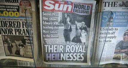 Queen Elizabeth's Nazi salute: What it tells us about Uncle Edward (+video)