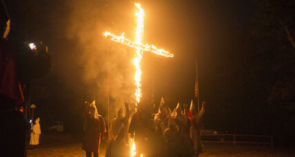 'Lonely,' KKK rally points to Klan's dwindling influence, say experts (+video)
