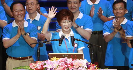 Taiwan's model of women leaders
