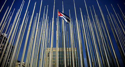Amid symbolic opening of Cuban embassy, points of friction remain