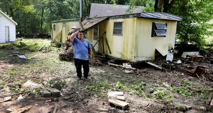 Torrential rains batter struggling Ohio community