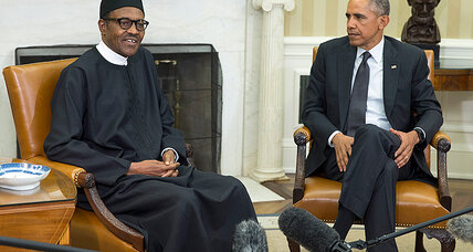 In first US meeting, Obama praises Buhari for pursuing 'safety, security and peace'