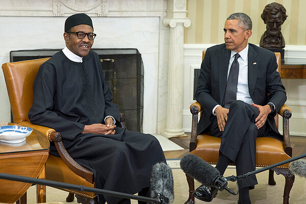 Buhari assured Obama that Nigeria is making progress towards resolving Niger Delta region problem which has led to economic sabotage on a grand scale.