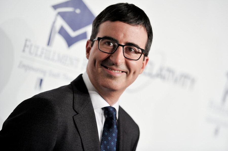 Why John Oliver Has Everyone Talking About Food Waste Csmonitorcom