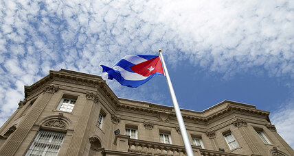 For first time in 54 years, new ties begin as Cuba raises flag at embassy in US (+video)