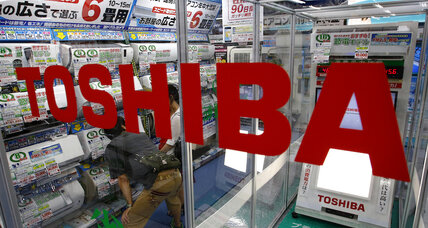 Toshiba CEO resigns over doctored company finances
