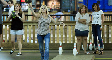 A strike or a bonk? Football plus bowling creates 'Fowling' in Michigan