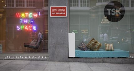 Are 'anti-homeless' spikes heartless?