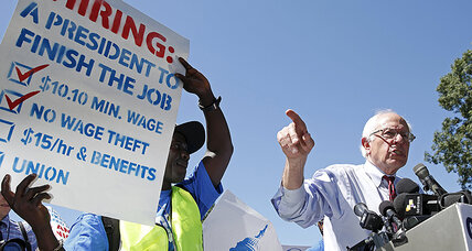 Bernie Sanders pushes minimum wage hike: Is $15 too much? (+video)