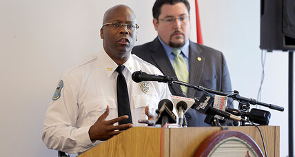 Can Andre Anderson help build trust as Ferguson's new interim police chief?