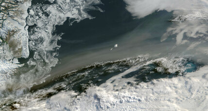 2015 wildfires: NASA photographs smoke over Greenland Sea