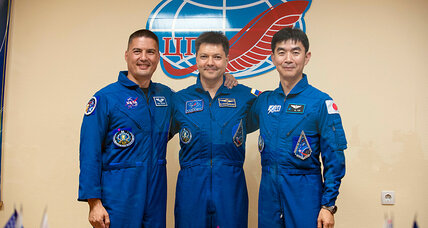 Who are the 3 newest astronauts in space?