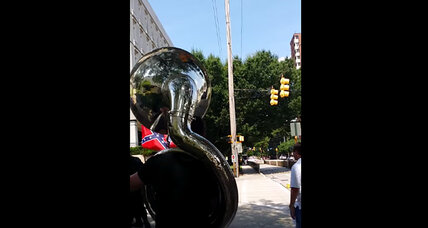 Sousaphone vs. the KKK: One man's twist on peaceful protest