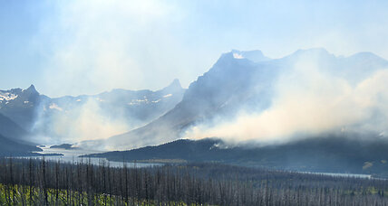 Glacier National Park wildfire: Relief coming from weather shift