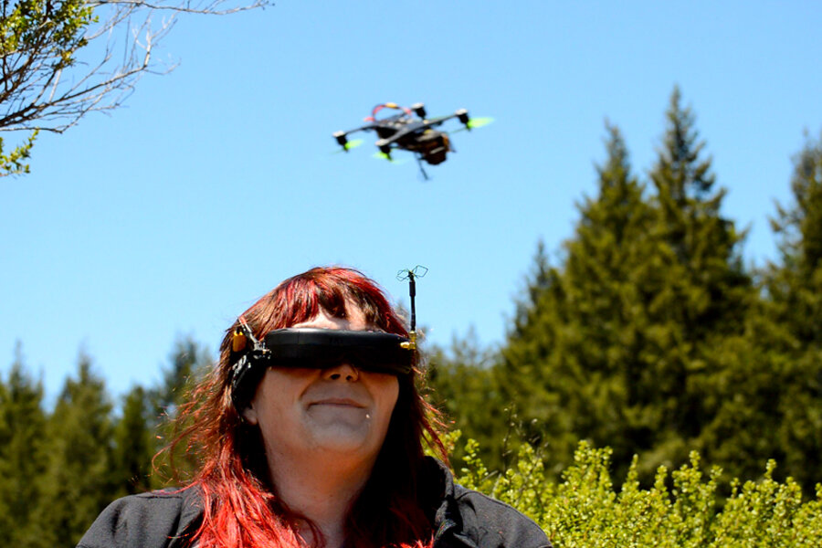Drone racing championship attracts experts in first-person flying