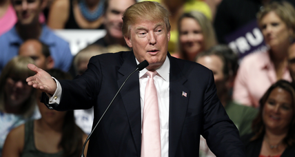 Donald Trump leads as GOP candidates jockey for top 10
