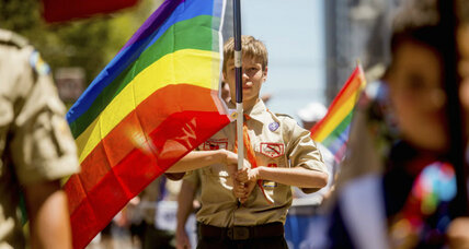 Why Boy Scouts stance on gay leaders leaves it in limbo (+video)