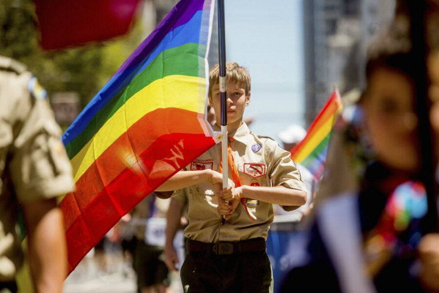 3858c8b2a58 Why Boy Scouts stance on gay leaders leaves it in limbo - CSMonitor.com