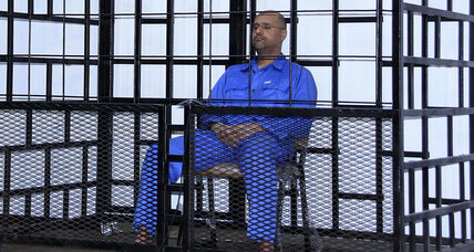 Libya sentenced Qaddafi's son to death over war crimes