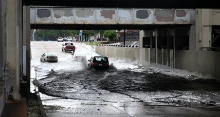 Climate change trifecta exacerbates urban, coastal flooding