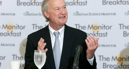 Lincoln Chafee targets Hillary Clinton on Iraq War vote