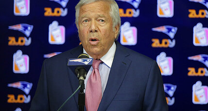 Brady, Kraft decry Patriots QB NFL suspension