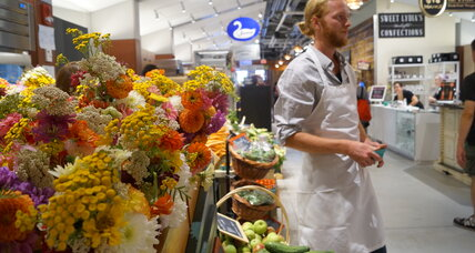 Locally sourced indoor market opens in Boston