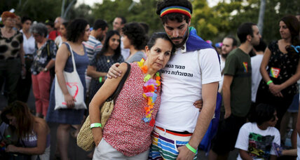 Six hurt in stabbing at gay pride parade in Jerusalem