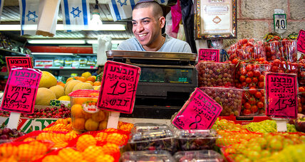 Jerusalem's markets: the diplomacy of food