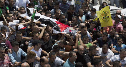Palestinian teenager killed while protesting toddler's death in West Bank