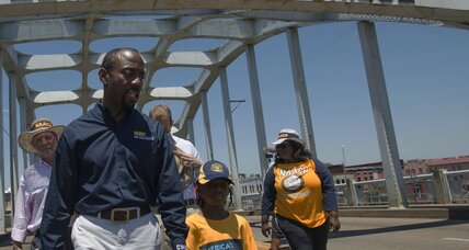 Selma to Washington: NAACP begins 860-mile march for voting rights (+video)