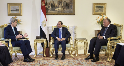 Kerry says US, Egypt return to 'stronger base' in ties