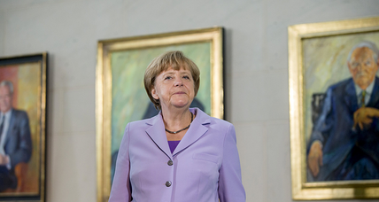 In Germany, Merkel's party poised for absolute majority
