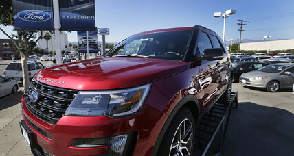 US car sales up in July, helped by SUV and luxury demand