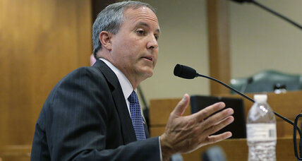 Texas attorney general faces securities fraud charges