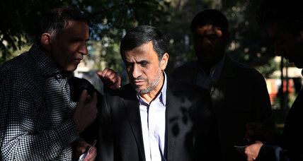 Former Iranian president Ahmadinejad returns to political stage
