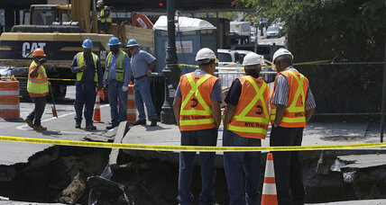 A sinkhole grows ... in Brooklyn?