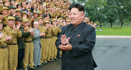 Why is Kim Jong-un receiving a peace prize?