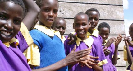 Mobile schools educate girls in rural Kenya