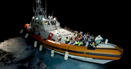 Fishing boat carrying 600 migrants capsizes in Mediterranean
