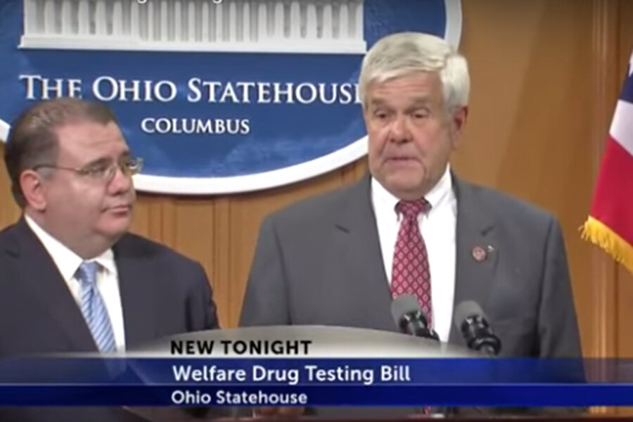 essay on drug testing welfare recipients