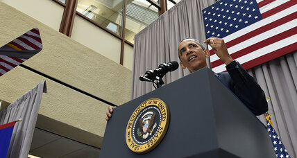 Obama: Successful Cold War diplomacy helped build Iran nuclear deal