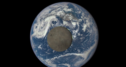 Astounding NASA image captures the moon's far side