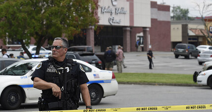 Suspect armed with gun and hatchet shot dead at Tenn. theater, police say