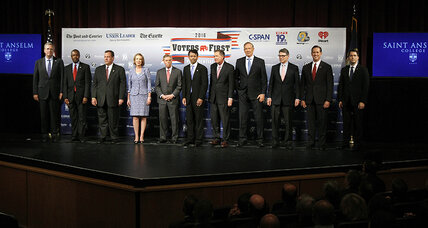 'Winning' the GOP presidential debate: What does that mean?
