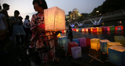 Hiroshima's 70th: As Japan remembers nuclear bomb, rising tensions in region (+video)